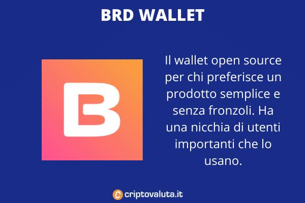 BRD Wallet - a cura di Criptovaluita.it