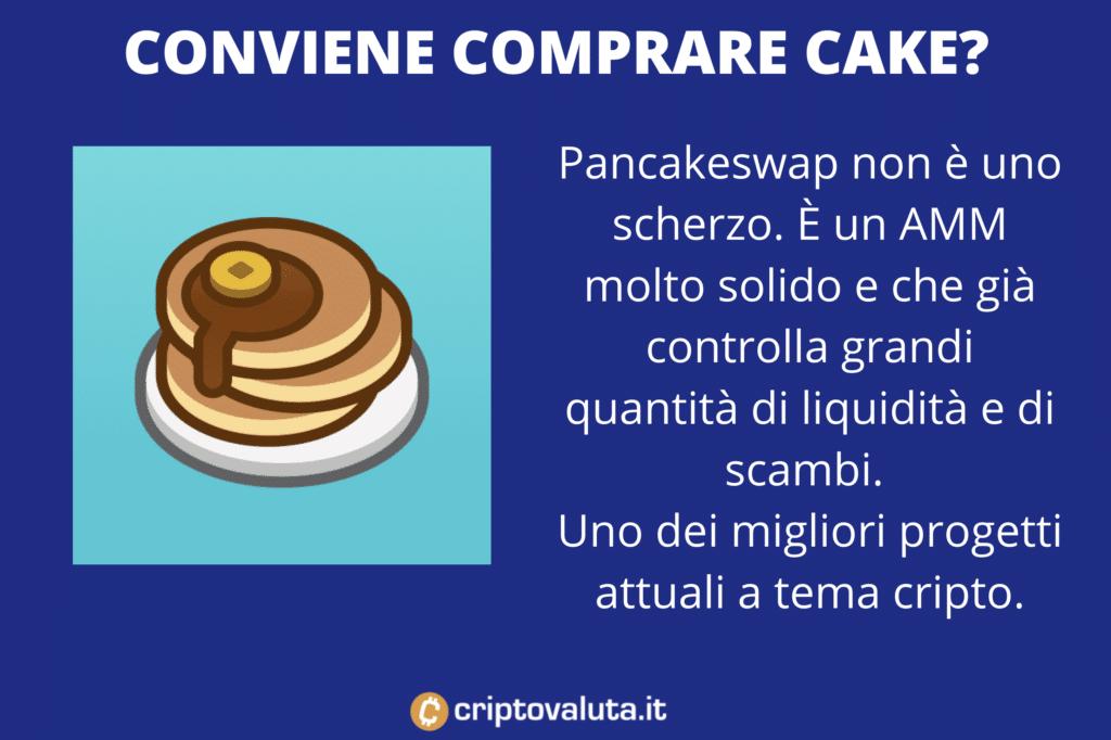 CAKE conviene comprare - cura di Criptovaluta.it