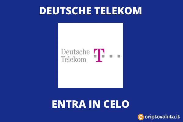 Deutsche Telekom acquisizione CELO
