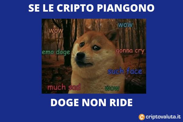 Dogecoin crack 30%