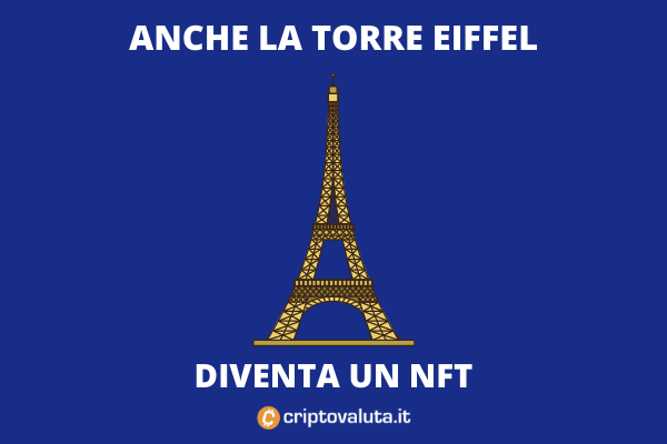 Asta Ethereum NFT Eiffel Tower