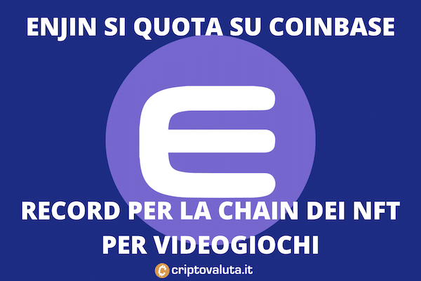 Enjin Coin - Coinbase