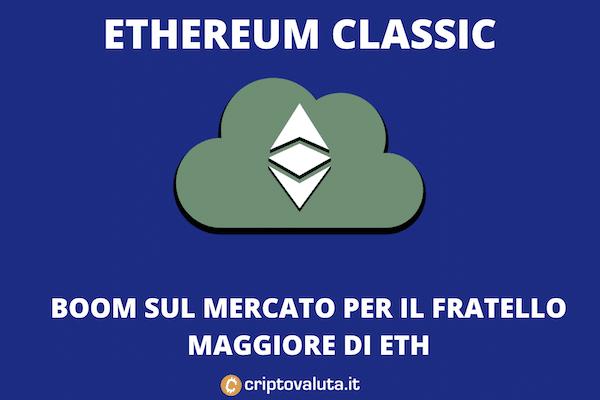 Ethereum Classic vola - i perché della crescita