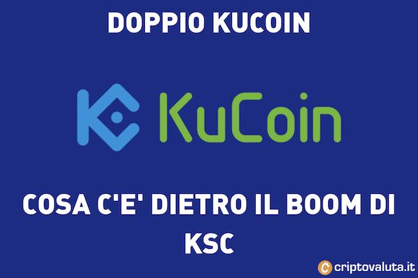 KuCoin Raddoppia - 100% in 7 giorni