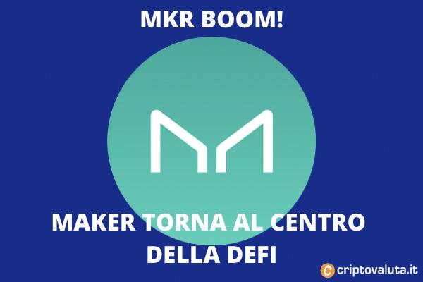 MKR boom del 15 aprile - le ragioni