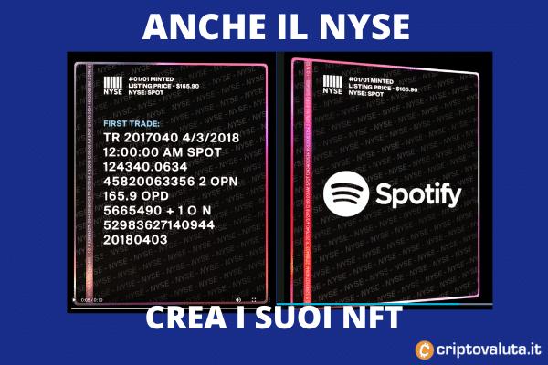 6 NFT NYSE