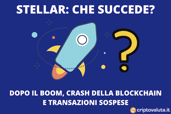 Stellar crash blockchain dopo il boom