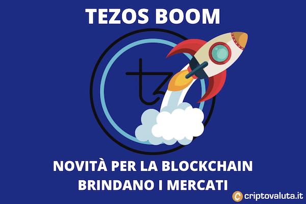 Tezos boom aprile