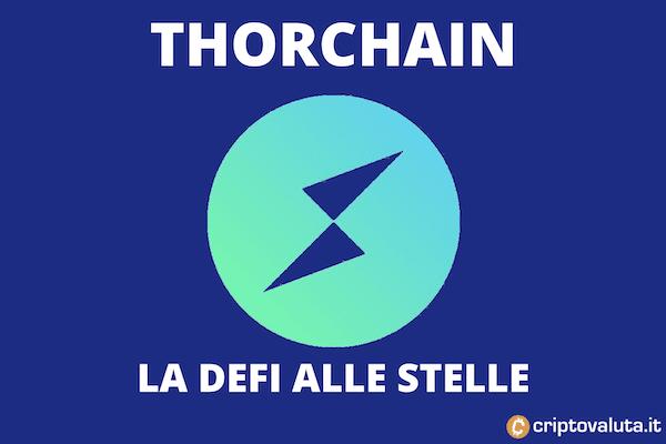 Thorchain nuovo boom giornaliero