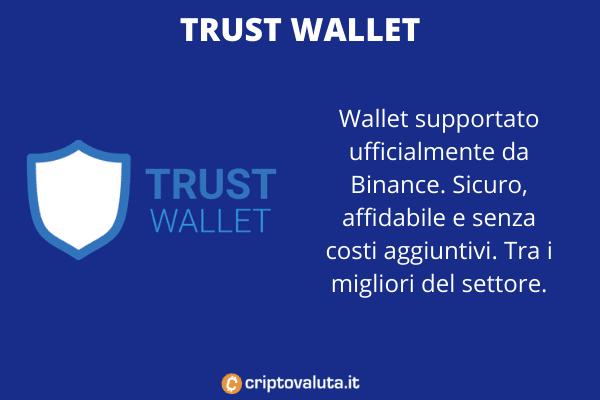Trust Wallet Binance App - a cura di Criptovaluta.it