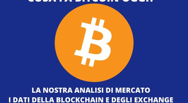 quello che è successo al mercato bitcoin