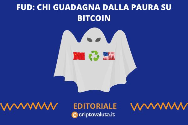 BItcoin e FUD: come capire la situazione - editoriale di Criptovaluta.it