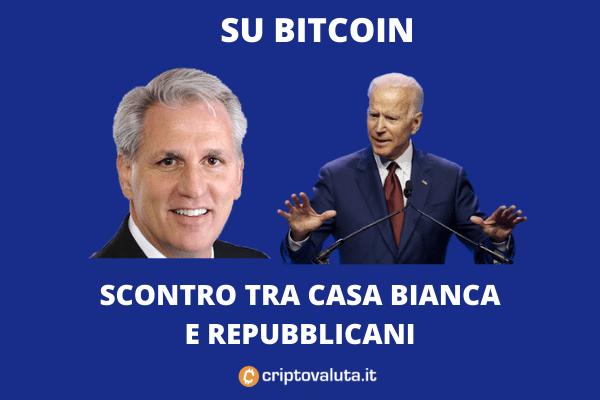 Bitcoin Guerra Dem rep