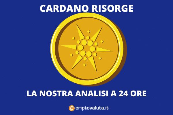 Analisi 24 ore sul boom di Cardano - di Criptovaluta.it