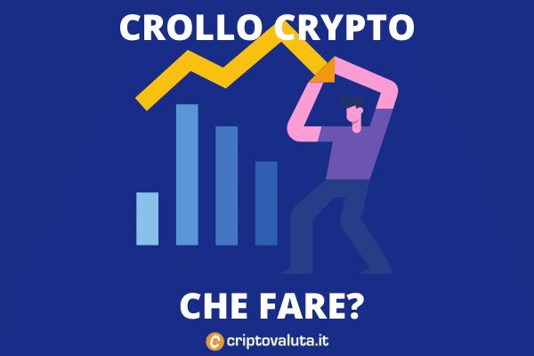 Crollo criptovalute, cosa fare adesso sul mercato - di Criptovaluta.it