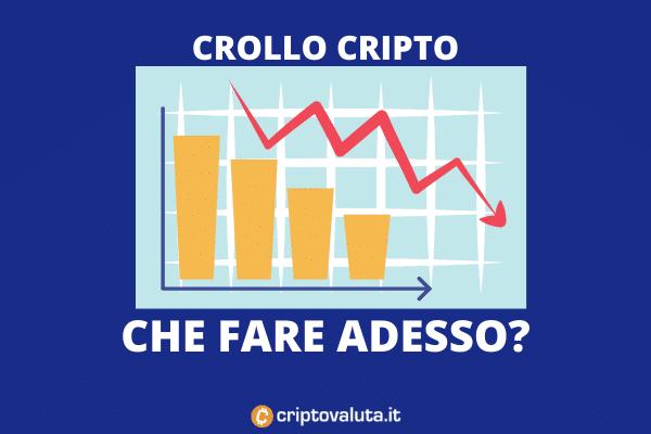 Mercato crypto giù - analisi di Criptovaluta.it