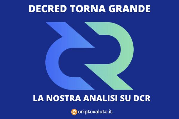 Decreed performance mercato e analisi - di Criptovaluta.it