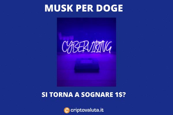 Doge Musk 1 dollaro