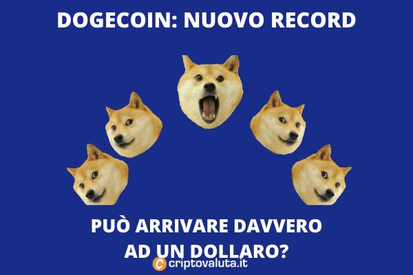 Doge nuovo record