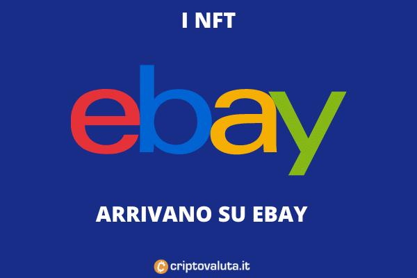 NFT EBAY - sito di aste