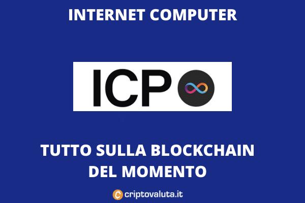 Internet Computer ICP - la guida di Criptovaluta.it