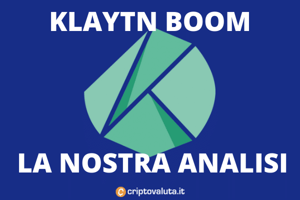 Analisi di Criptovaluta.it su Klaytn e il suo boom di mercato