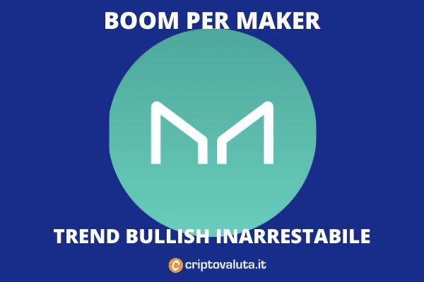 Maker trend positivo inarrestabile - di Criptovaluta.it