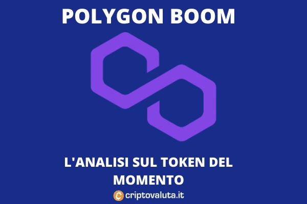 Boom di Polygon MATIC sul mercato di Maggio
