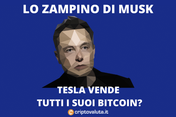 Tesla vende Bitcoin? L'incredibile Musk su Twitter