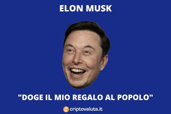 Elon Musk - Doge - commento