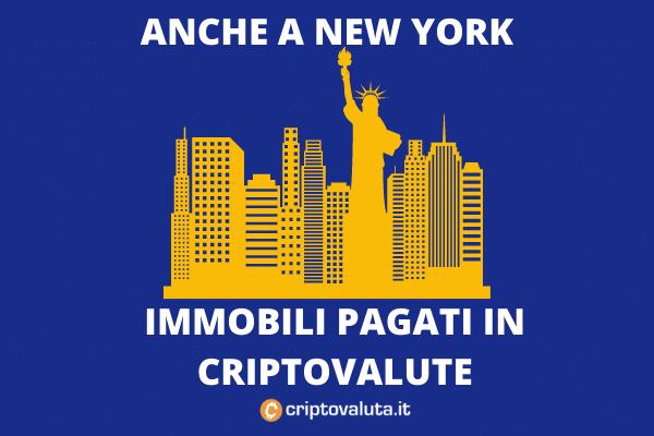 New York immobili in criptovalute - da Algocap - lo speciale di Criptovaluta.it