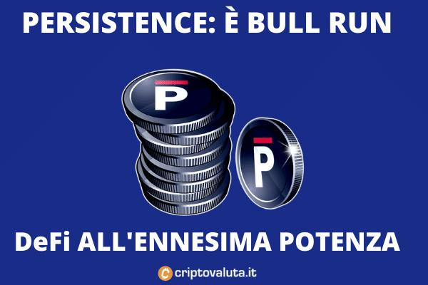 Persistence Bull run - analisi di Criptovaluta.it