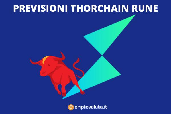 Thorchain RUNE - previsioni a cura di Criptovaluta.it - con analisi tecnica e fondamentale