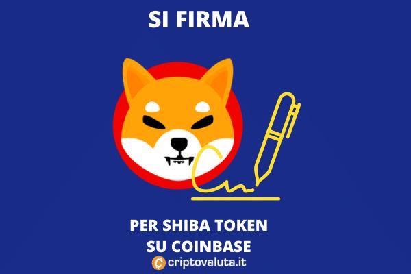 ShibaSwap e firme per coinbase - il futuro di SHIB