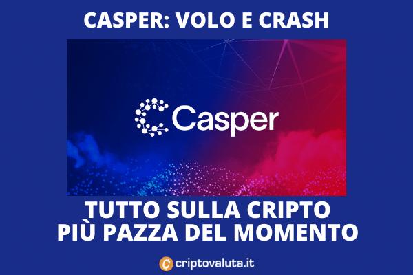 Casper - guida al boom e crash di Criptovaluta.it