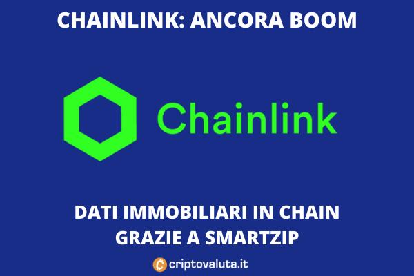 Smartzip chainlink boom