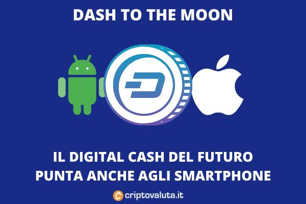 dash pagamenti identità smartphone