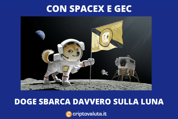 Dogecoin SpaceX GEC - missione DOGE-1