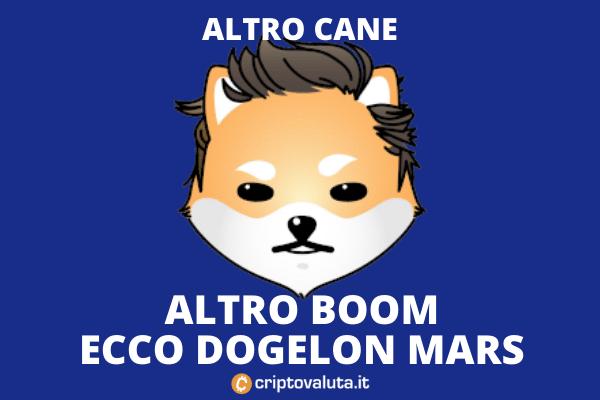 Dogelon Mars - dogecoin clone - analisi