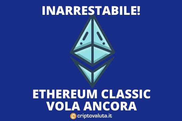 Ethereum Classic Boom venerdì