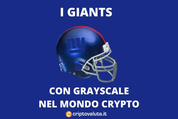 Gryscale Ny Giants collaborazione