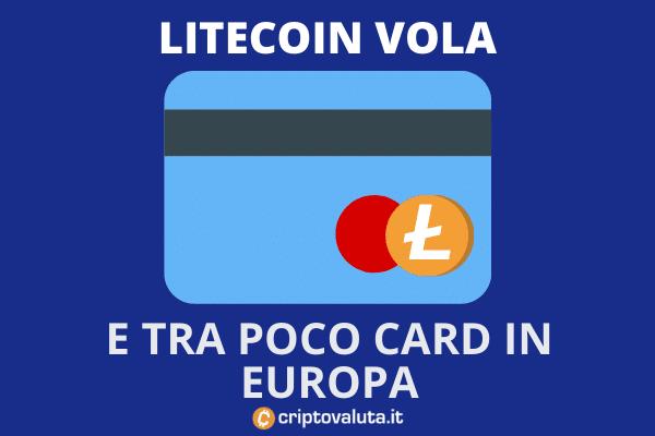 LItecoin Europa Card