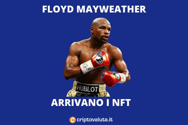 FLoyd Mayweather NFT