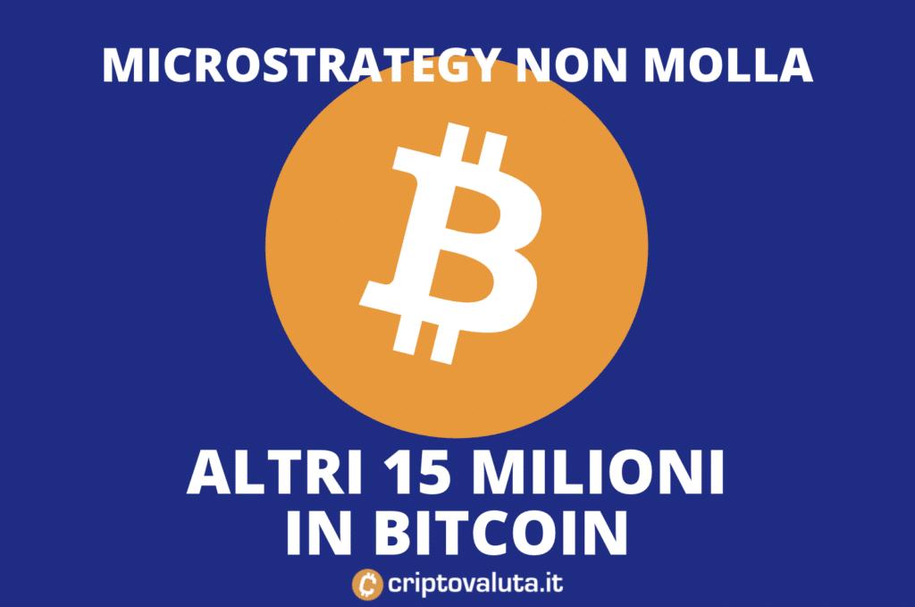 Microstrategy acquisto Bitcoin