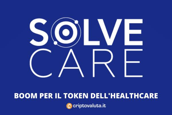 SolveCare blockchain medica - approfondimento di Criptovaluta.it
