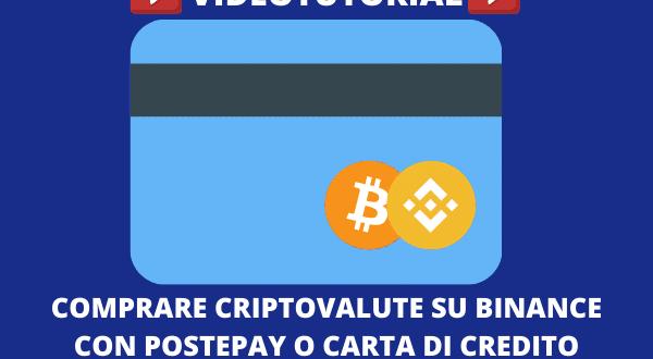 acquistare criptovalute con carta di credito)