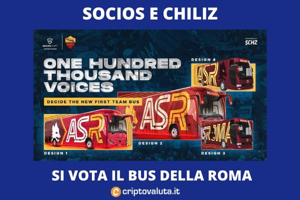 Chiliz voto ASR bus - di criptovaluta.it