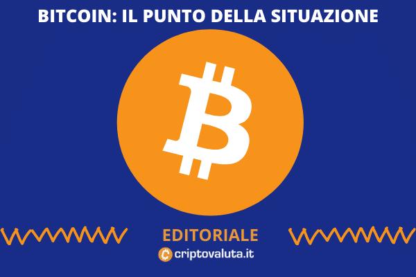 Bitcoin - editoriale settimanale di Criptovaluta.it