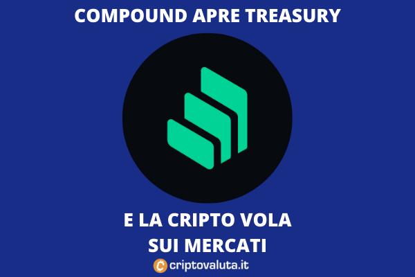 Compound - annuncio di Treasury