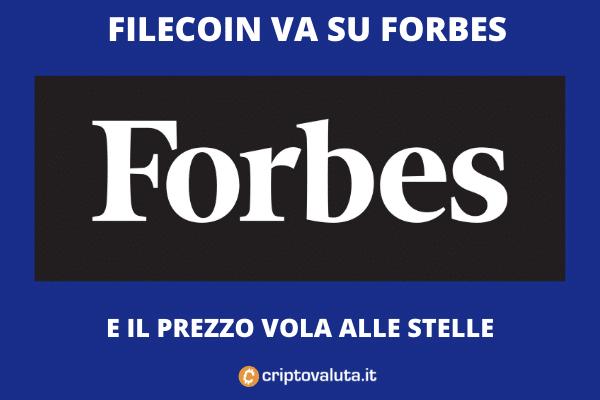 Forbes vola sui mercati grazie a Forbes, ma non solo